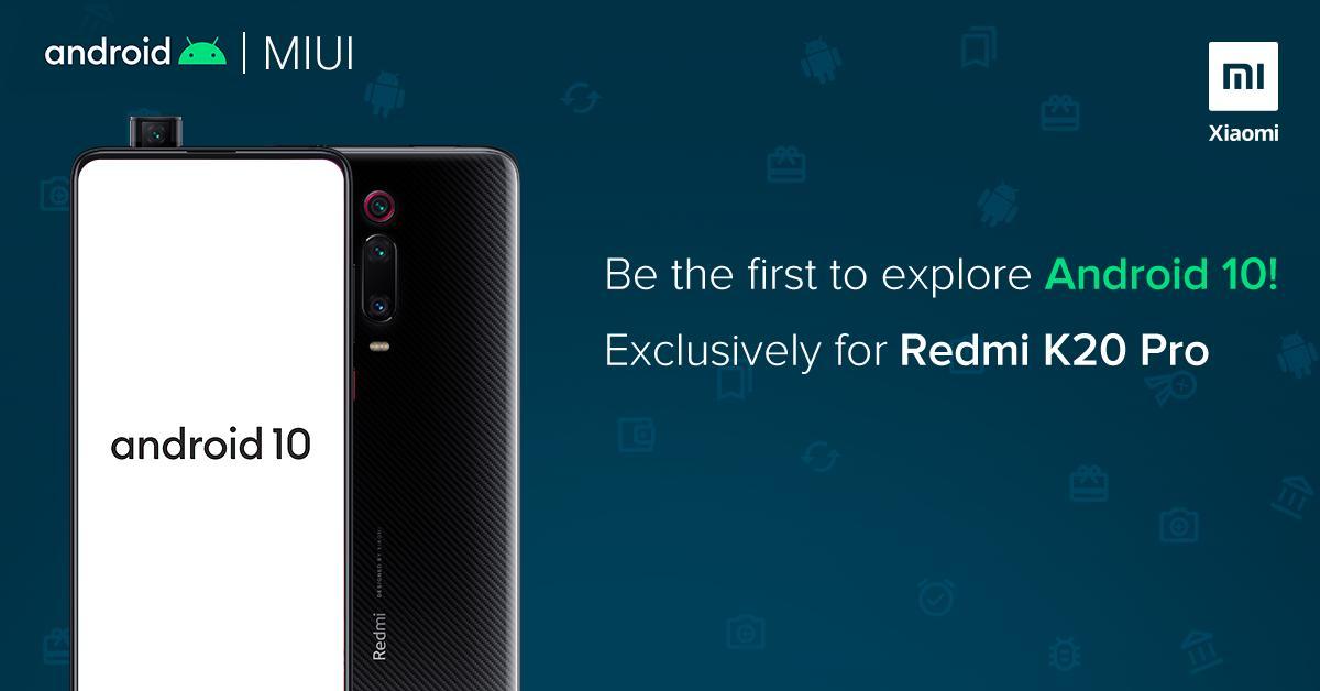 Redmi K20 Pro Android 10