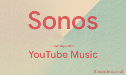 Your Sonos speakers now support YouTube Music