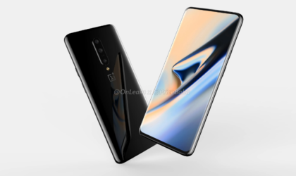 OnePlus 7 leaks out: three rear cameras and a pop-up selfie camera