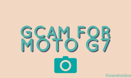 How to install Google Camera (Gcam) on Moto G7