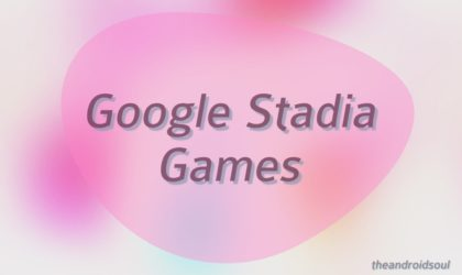 What games are available on Google Stadia