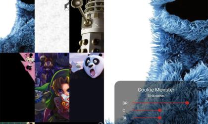 Hidey Hole app has plenty of free Samsung Galaxy S10 cutout wallpapers