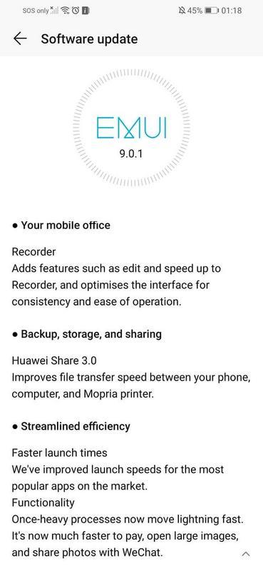 Honor 8X Pie update-2