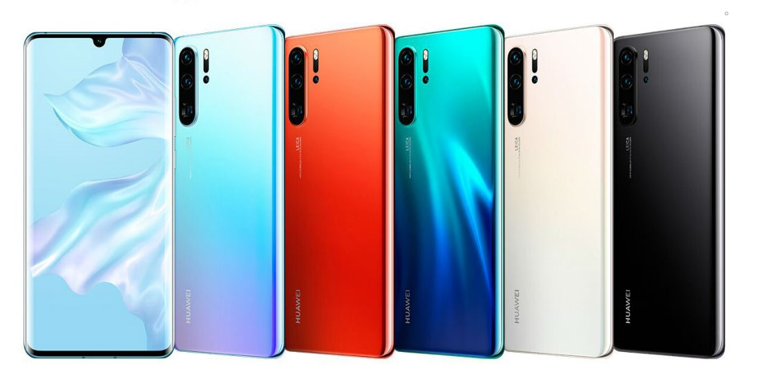 Huawei P30 Pro colors