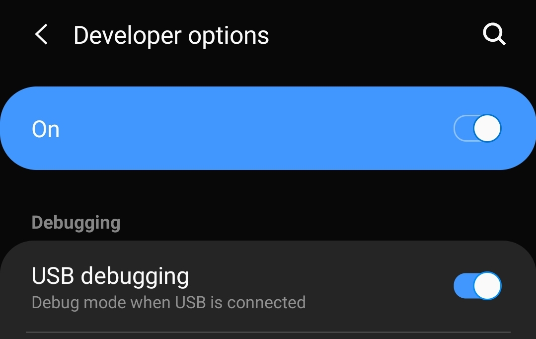 How to hide navigation bar on One UI Android 9 Pie update on