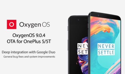 OxygenOS 9.0.4 for OnePlus 5 and 5T adds Google Duo to stock Phone app, improves network stability, and more