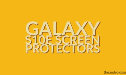 Best Samsung Galaxy S10e screen protectors and tempered glass