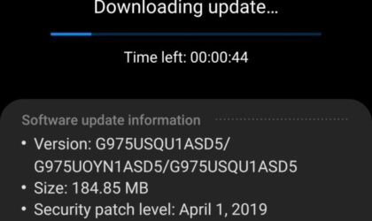 Sprint fixes Galaxy S10+ LTE issues with the latest April patch