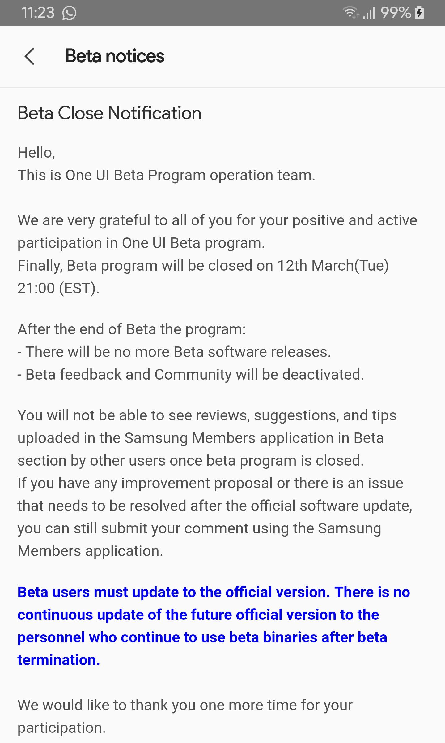 U.S.-unlocked-Galaxy-NOte-9-beta-end-notice