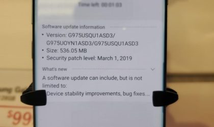 T-Mobile Galaxy S10 Plus receives new OTA update that improves fingerprint sensor and camera