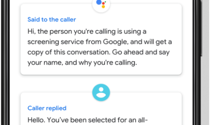 Google could expand Call Screen support to Android One phones