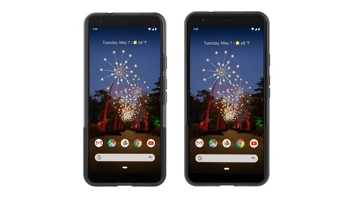 Google Pixel 3a and 3a XL renders