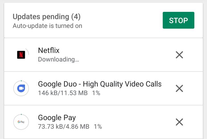 Google Play Store internal app sharing