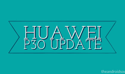 Huawei P30 update: New OTA optimizes fingerprint sensor, adds third-party notifications to AOD, and more