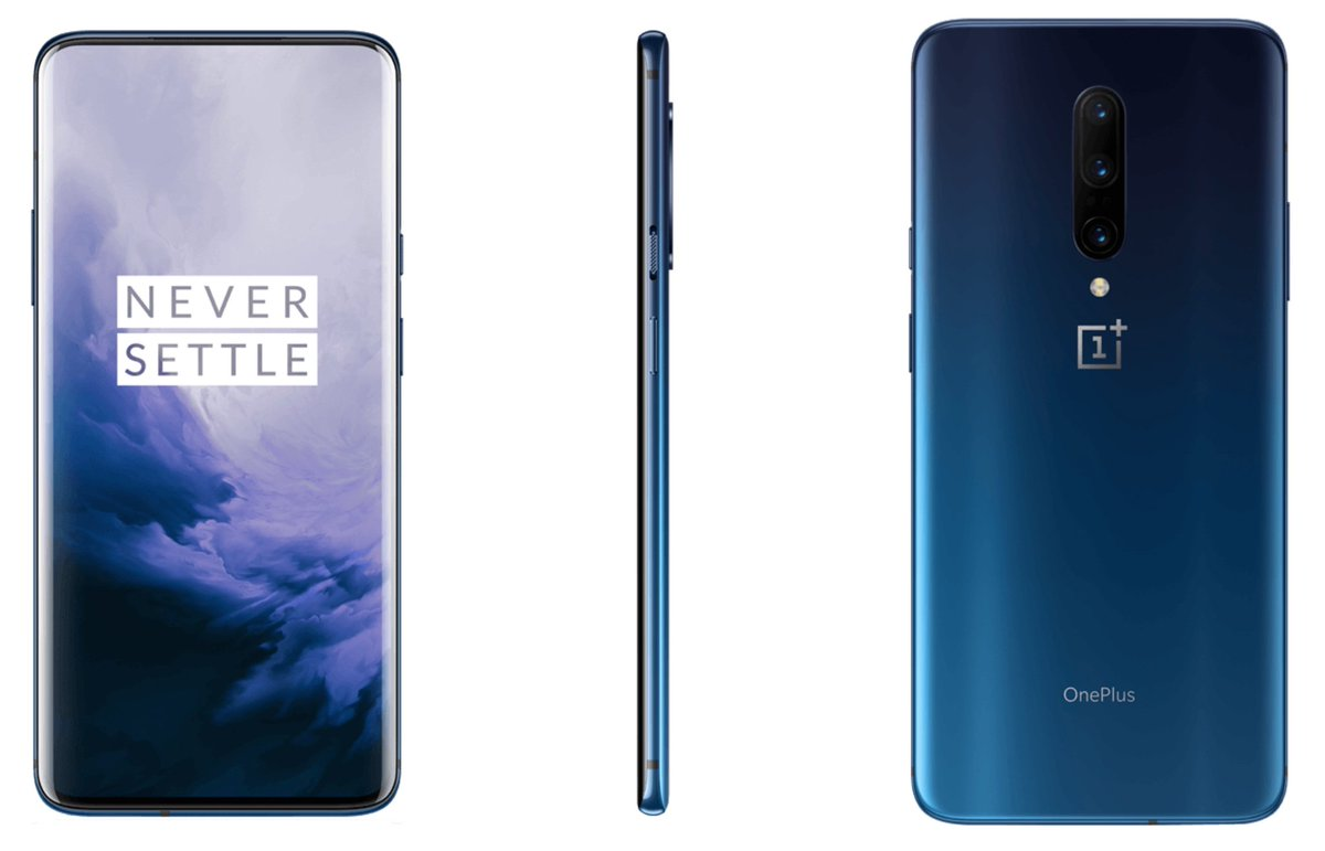 Leaked OnePlus 7 Pro in Nebula Blue