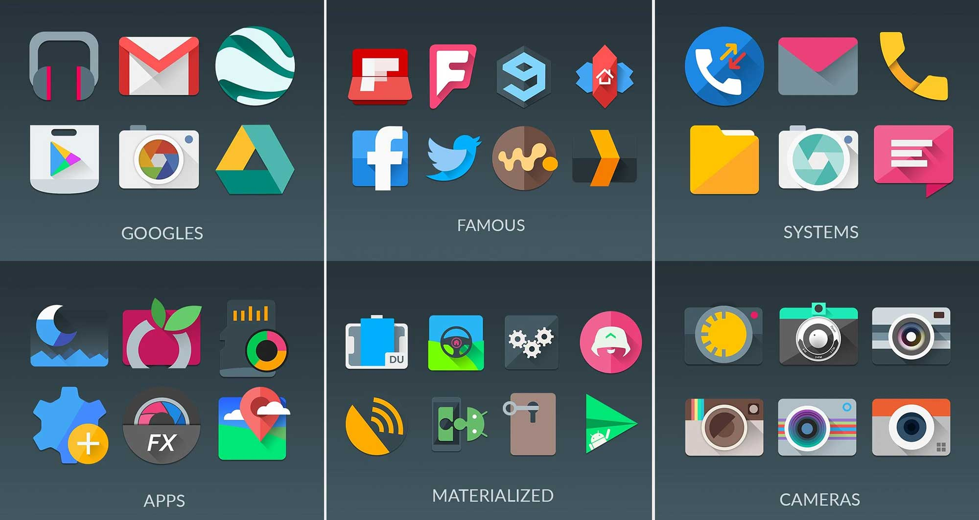 Materialistik-icon-pack