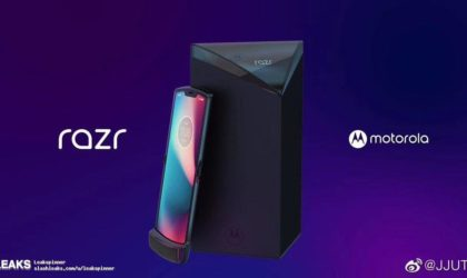 Upcoming Motorola RAZR V4 appears in some sketchy renders