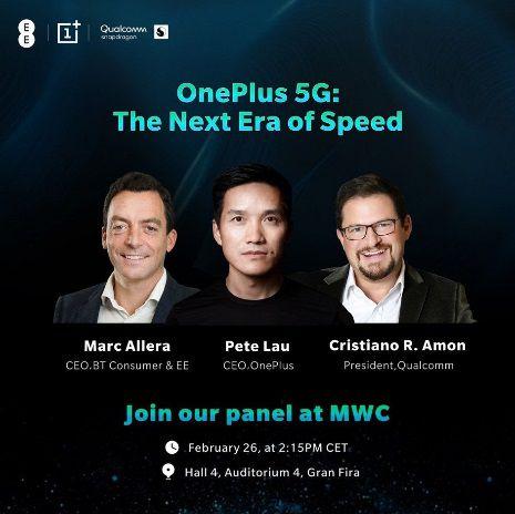 OnePlus 7 Pro 5G phone teaser