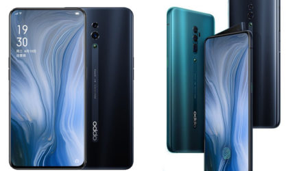Oppo announces Reno and Reno 10x Zoom smartphones motorised camera shelf