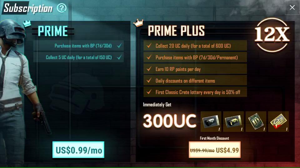 Unlock Hdr Pubg Ios: PUBG Prime And PUBG Prime Plus Subscriptions Announced