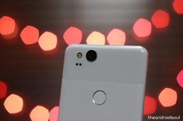 Pixel 2 smartphone