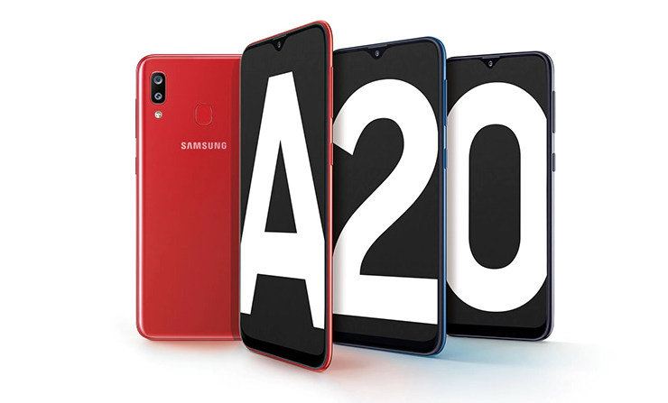 Samsung Galaxy A20 USA launch