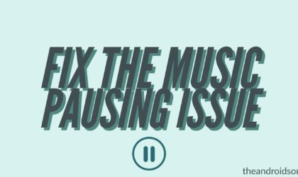 How to fix music app pausing issue on Samsung Galaxy devices after the update