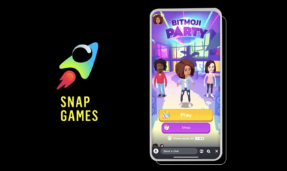 Snapchat Announces Snap Games as part of the app