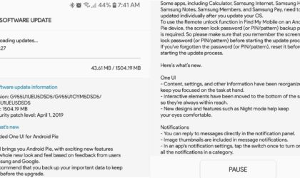 Unlocked Galaxy S8 and S8+ on Sprint receiving Android Pie update