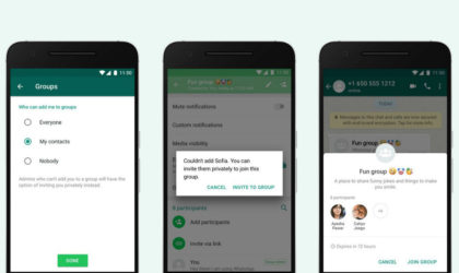New WhatsApp feature lets you choose who can add you to groups