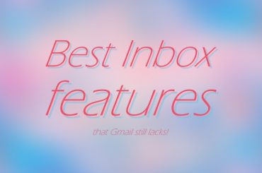 Inbox features