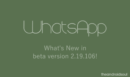 Latest WhatsApp beta allows blocking screenshots but it's not what you think