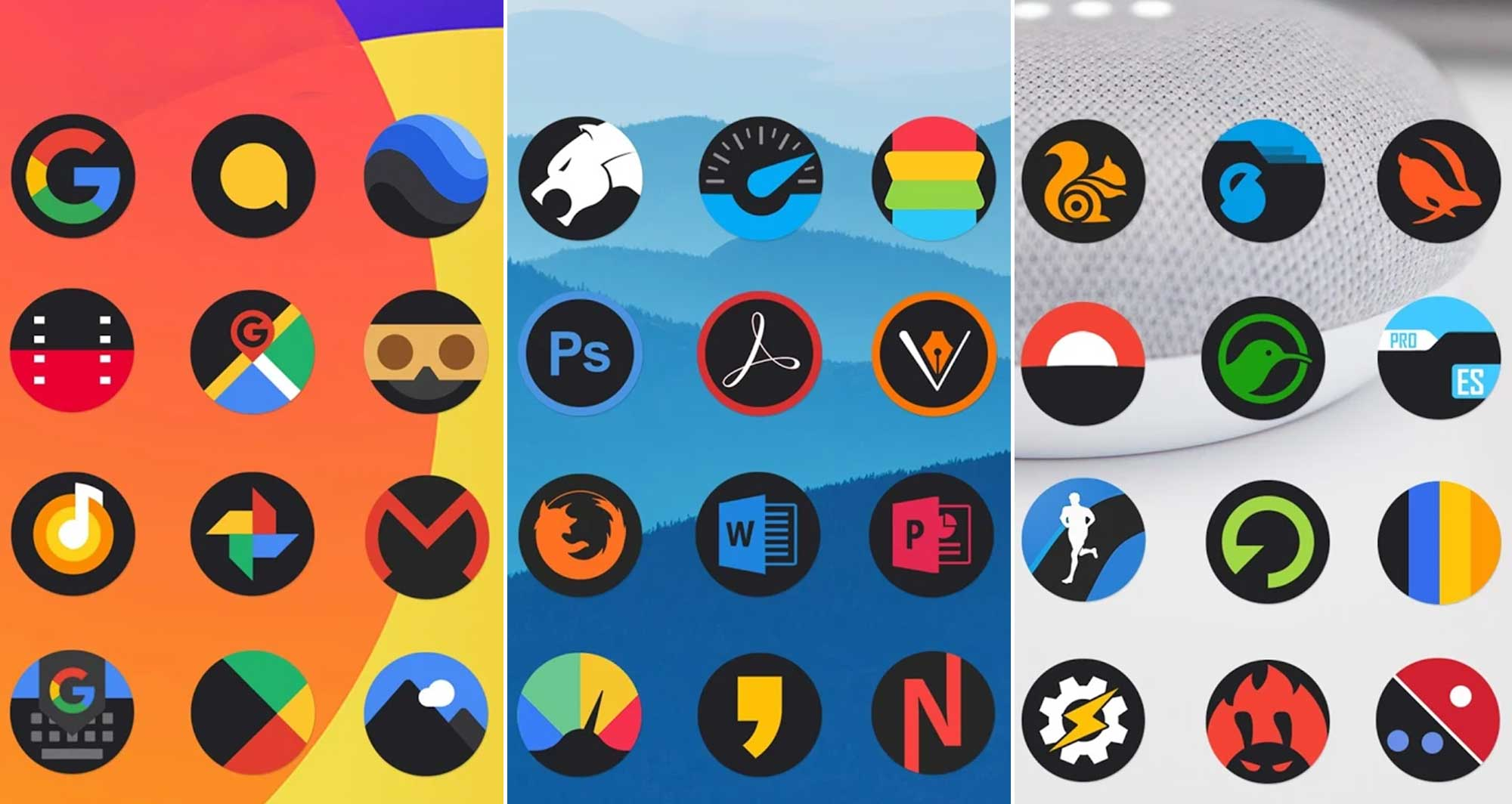 46 Best Icon packs: Round, Square, Minimal, Transparent