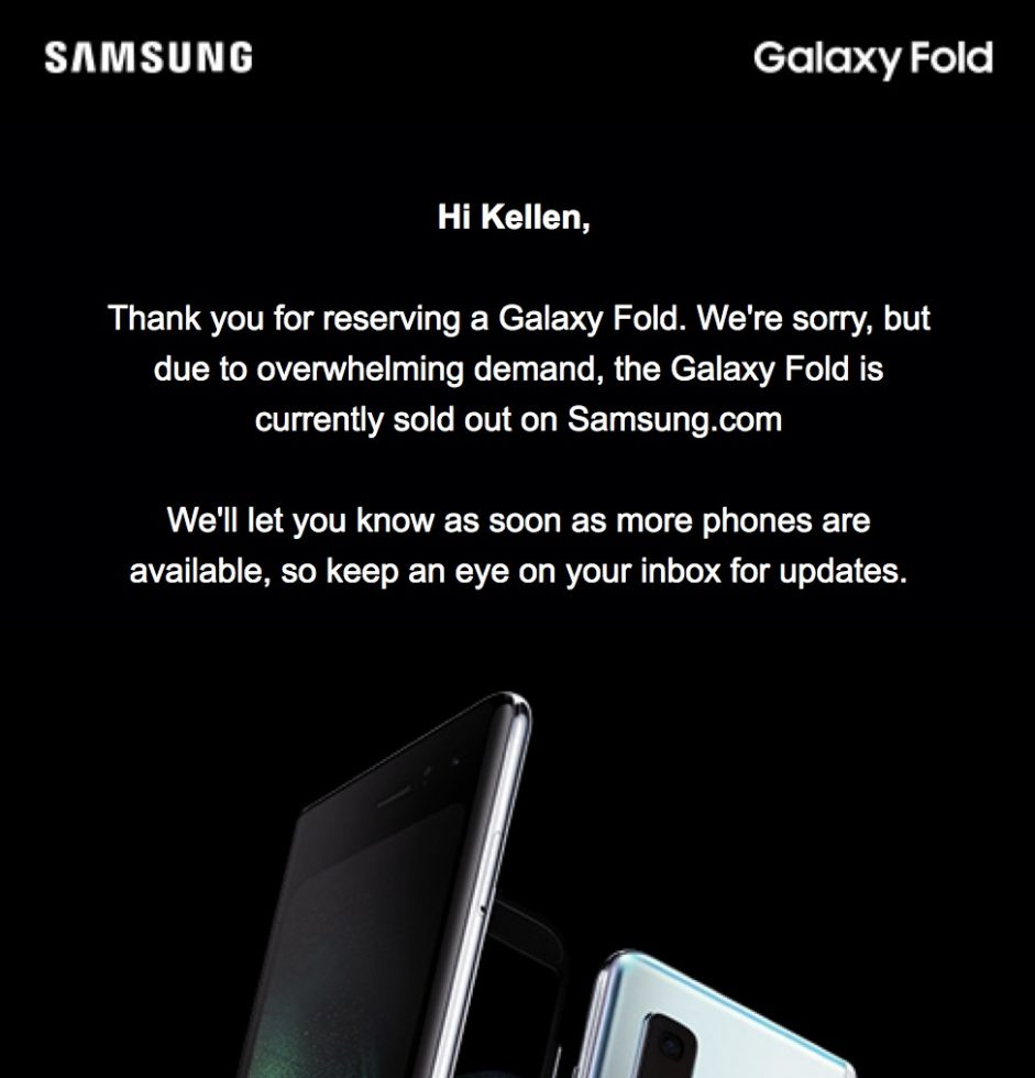 samsung-galaxy-fold-sold-out