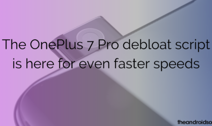 The OnePlus 7 Pro debloat script is here for even faster speeds