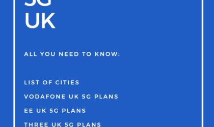 5G UK: Network coverage, 5G phones, release date, and more