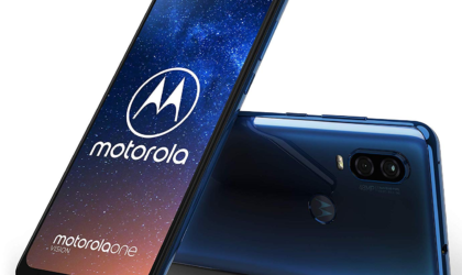 Moto One Vision's first update brings May 2019 security patch, improved Face unlock, Bokeh effect, and more
