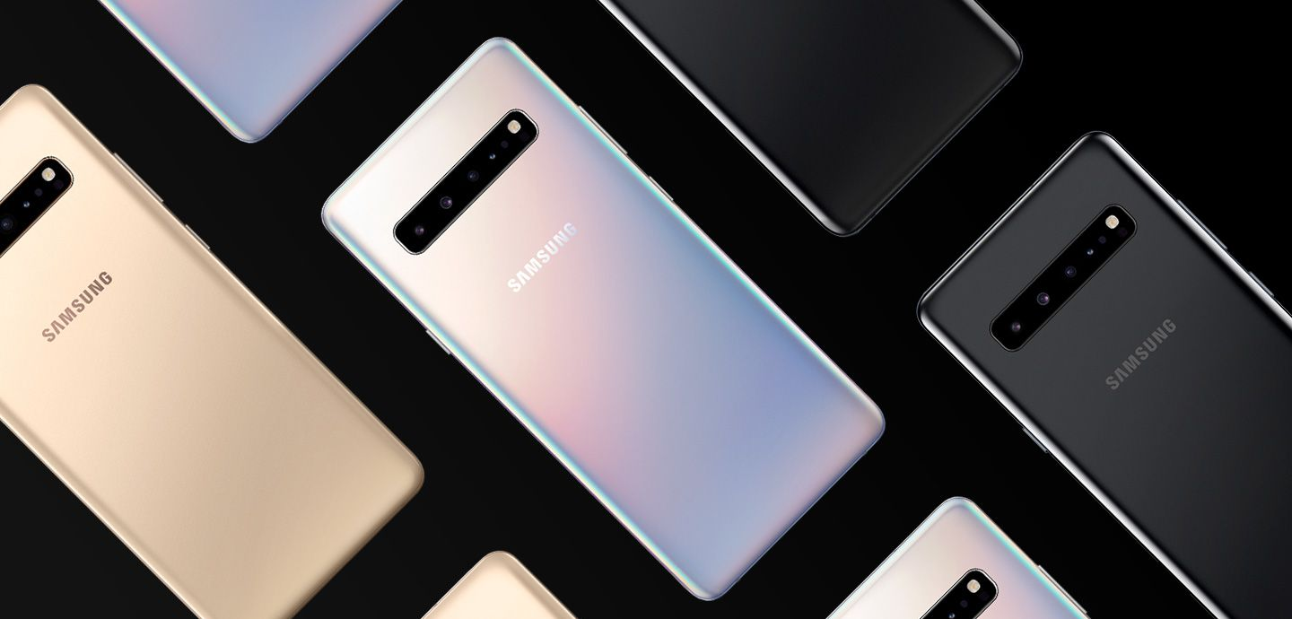 Samsung Galaxy S10 5G colors