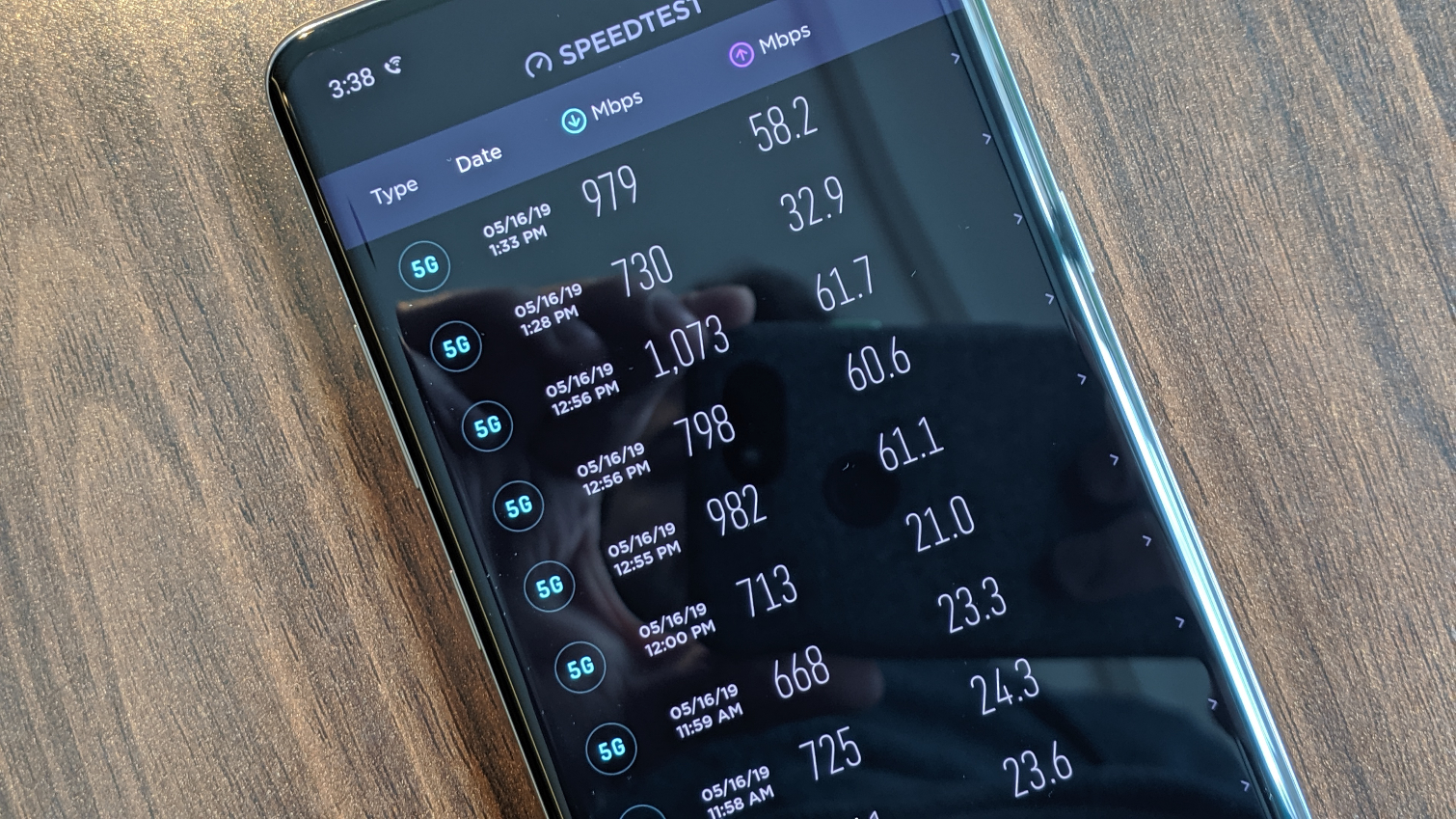 Samsung Galaxy S10 5G speed tests Toms Guide