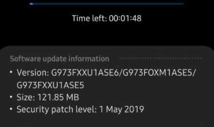 New bug fixer for Galaxy S10 May update (ASE6) now rolling out widely as an OTA!