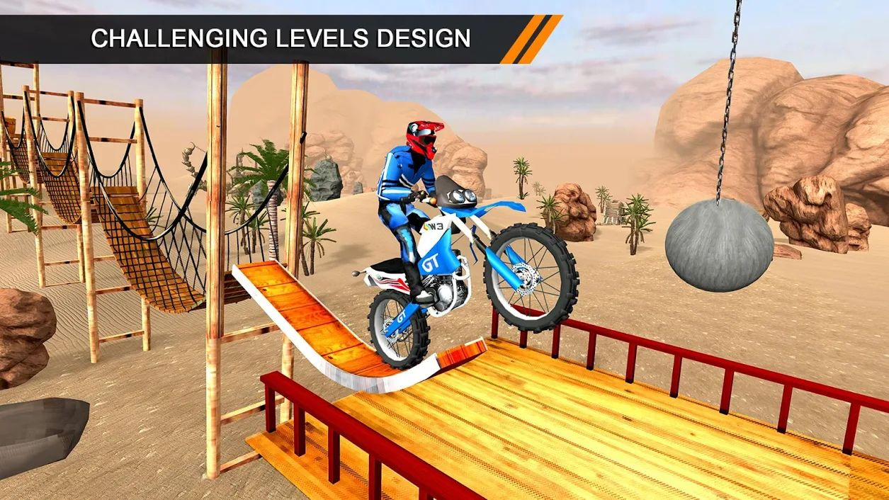 Impossible Tricky Motobike Race Crazy Adventure