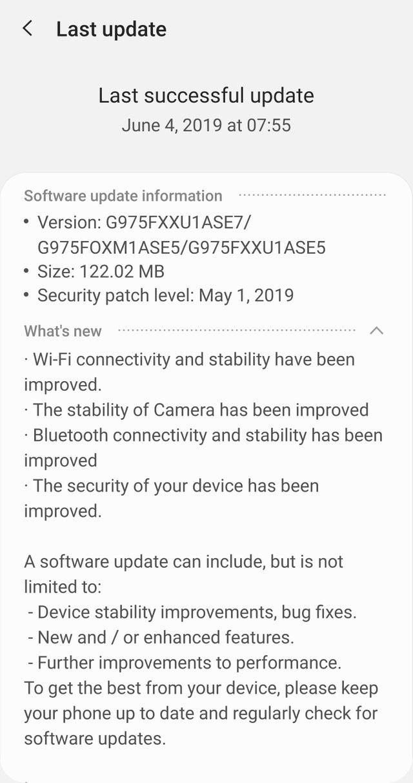 ASE7 OTA update