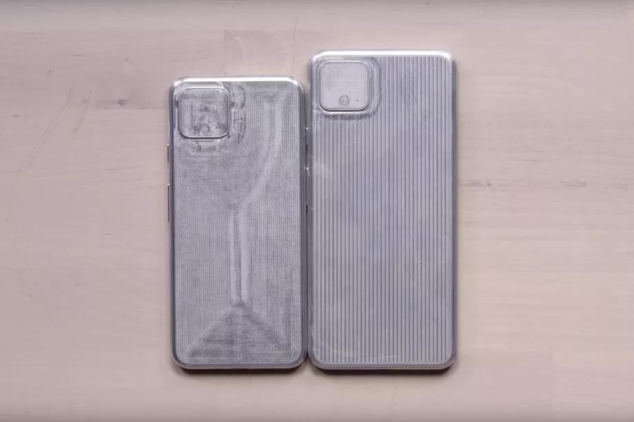 Google Pixel 4 and Pixel 4 XL case prototypes