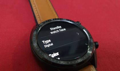Latest Huawei Watch GT update brings standby watch face for AOD goodness