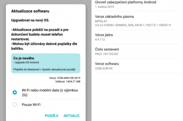 LG G7 Pie update Europe