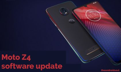 Motorola Moto Z4 update: Verizon rolling out May patch with 5G Moto Mod stability improvements