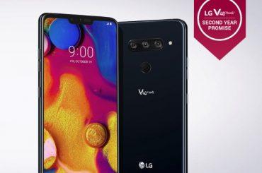 T-Mobile LG V40 Pie