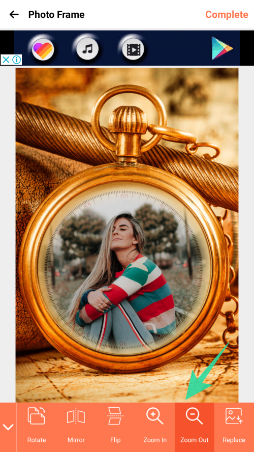 Add photo frame to images 10