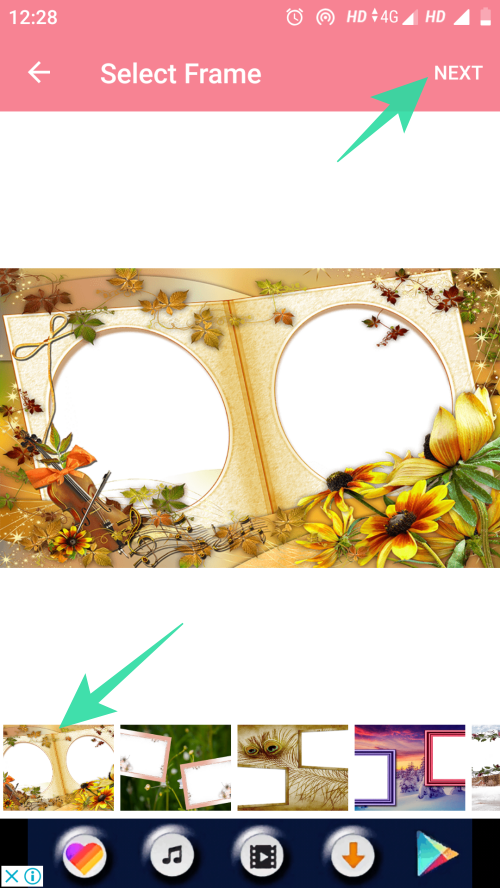 add photo frames to images 13