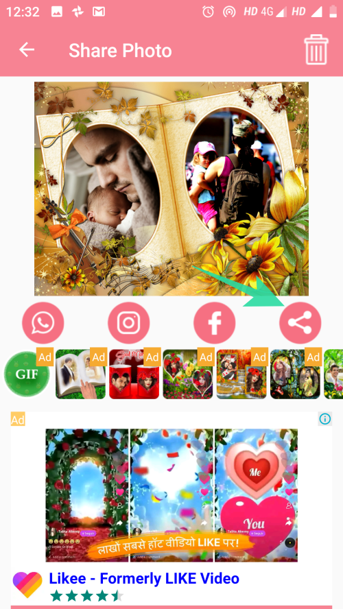 add photo frames to images 16